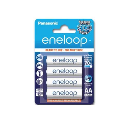 Vỉ 4 viên pin Panasonic Eneloop AA (2100 lần sạc)
