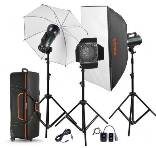 BỘ SET 3 ĐÈN FLASH STUDIO